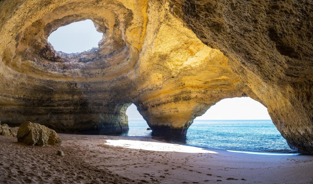 Portugal: Algarve - Benagil-Grotte