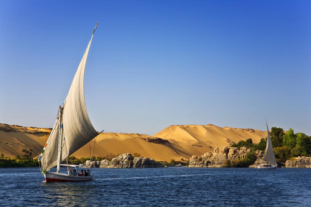 Ägypten - Nil - Boote