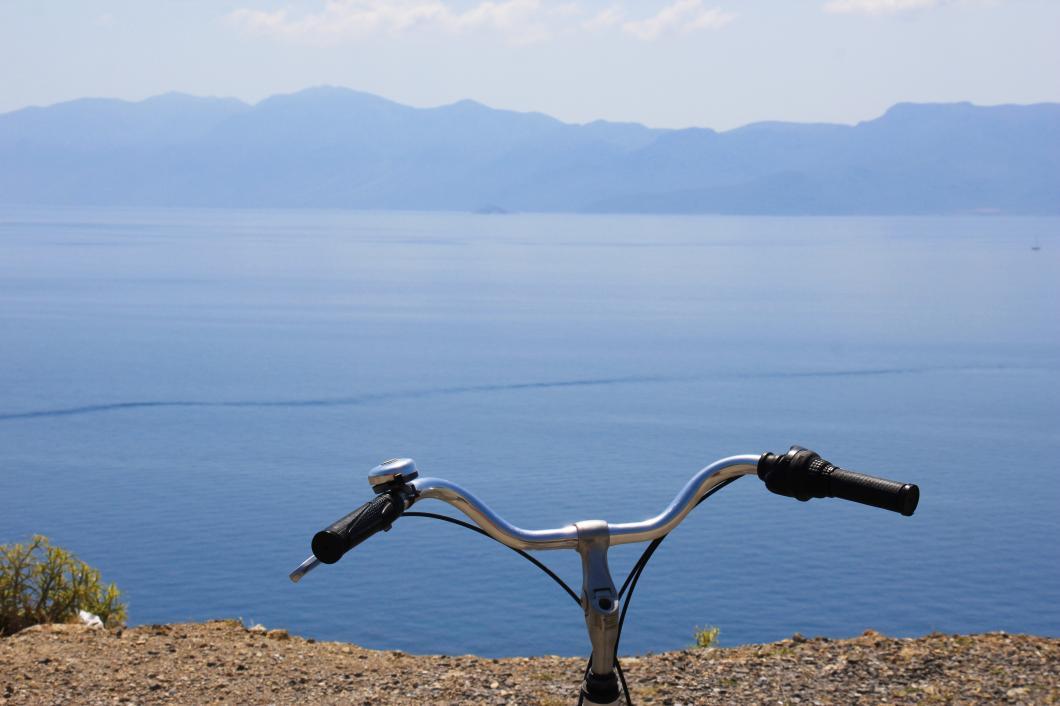 Fahrrad+Ozean