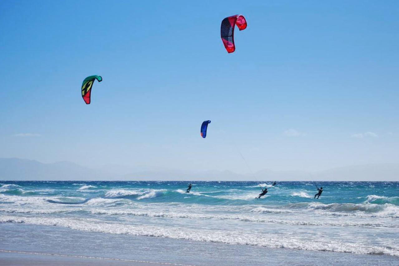 Spanien: Tarifa - Kitesurfen