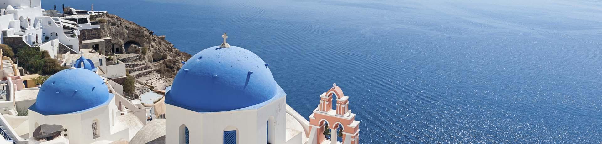 Griechenland: Santorin Häuser - Emotion