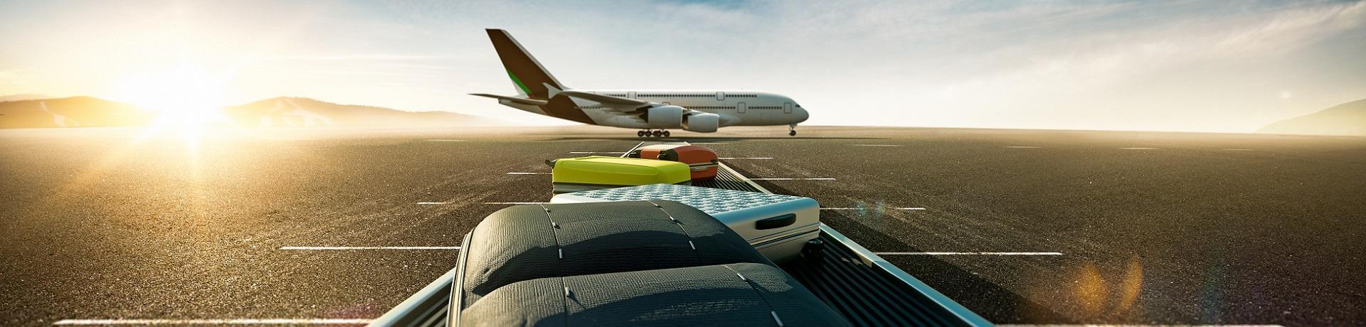 Sonstiges: Kofferband - Flugzeug - Emotion