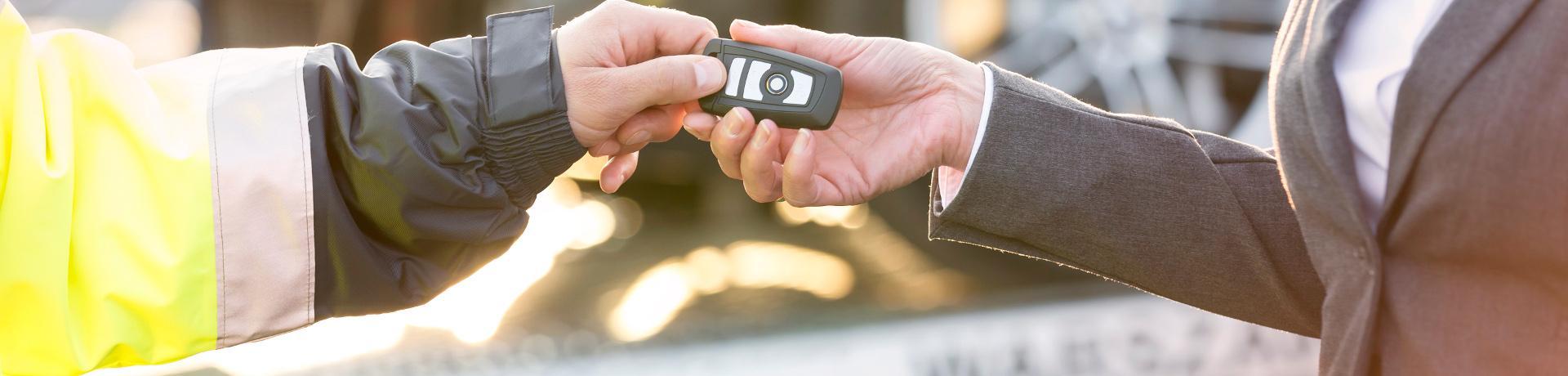 Mietwagen-Ratgeber: Übergabe - Schlüssel