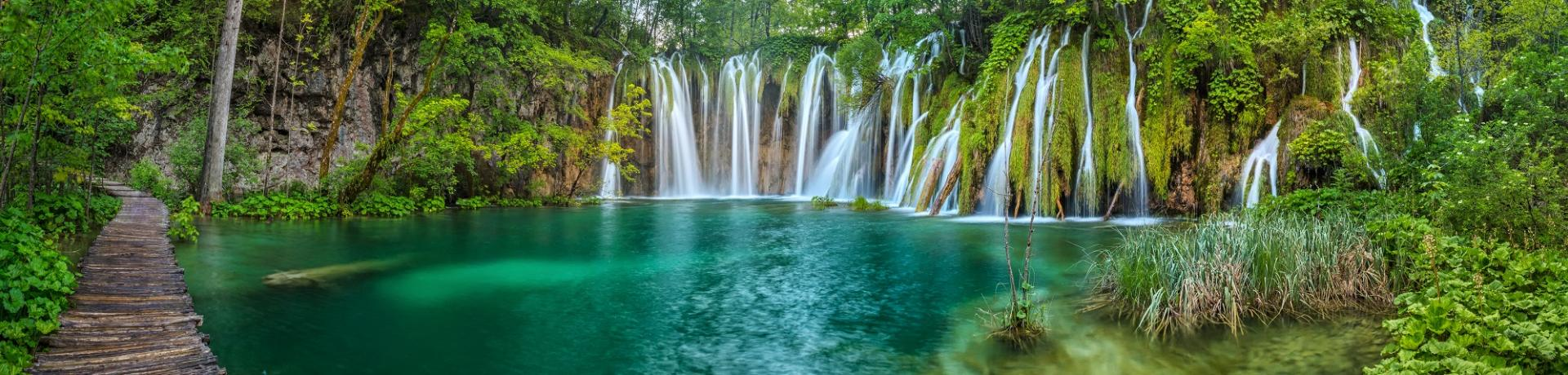Kroatien Natur Plitvicer Seen Emotion