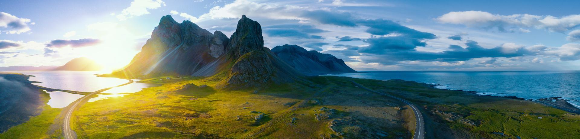 Berge-Meer-Island