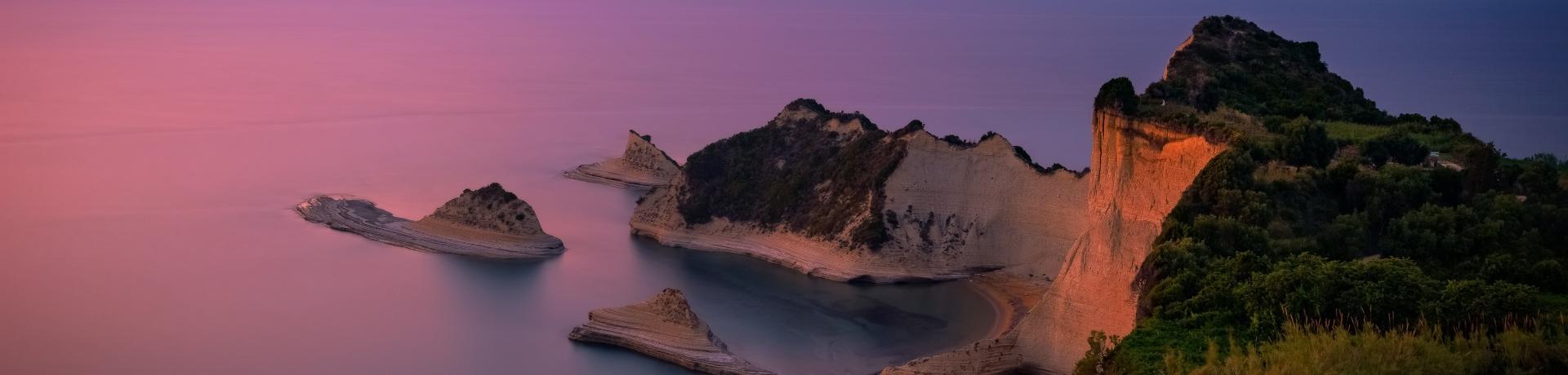 Korfu_Kap Drastis_Sonnenuntergang