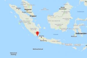 indonesien tsunami verursacht verw stungen auf java und. Black Bedroom Furniture Sets. Home Design Ideas