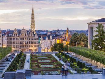 Mont des Arts - Brüssel