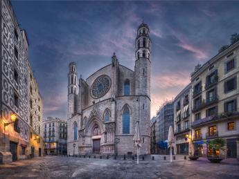 1174+Spanien+Barcelona+Santa_Maria_del_Mar+GI-534358030