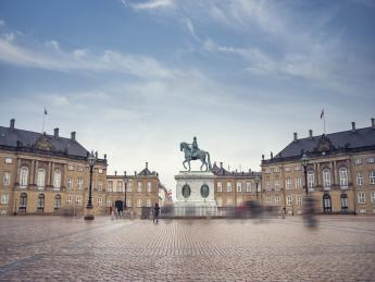 Schloss Amalienborg - Kopenhagen