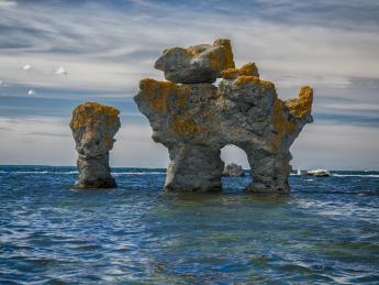 Rauk auf Gotland - Visby