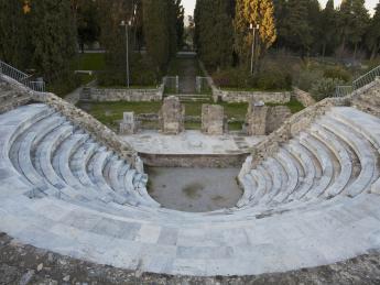 1858+Griechenland+Kos+Kos_Stadt+Römisches_Auditorium+GI-692112136