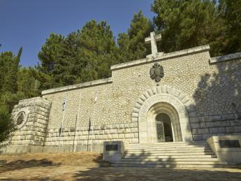 Serbisches Kriegsmausoleum - Korfu Stadt (Kerkyra)