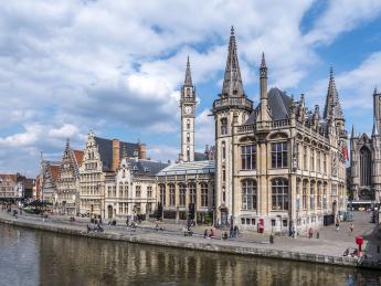 Graslei Harbour - Gent