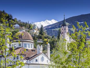 2976+Italien+Südtirol+Meran+Sankt_Nikolaus_Kirche+GI-1137274053