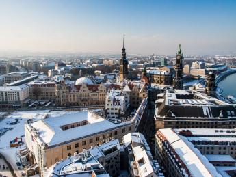 Winter - Dresden