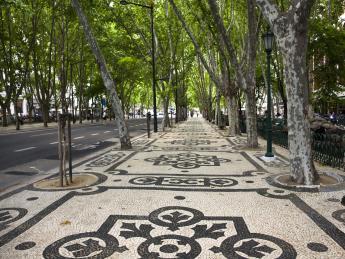 Avenida da Liberdade - Lissabon