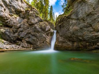 Buchenegger Wasserfälle - Oberstaufen