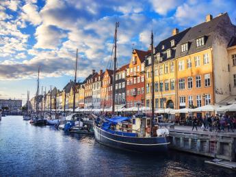 Altstadt von Nyhavn - Kopenhagen
