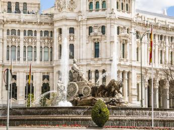 Kybelebrunnen - Madrid