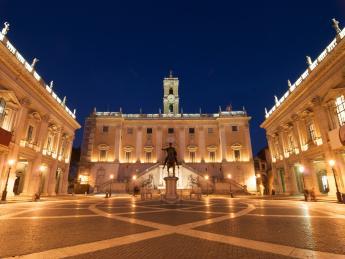 Kapitolsplatz - Rom