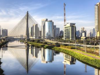 Ponte Estaiada Octávio Frias de Oliveira - Sao Paulo