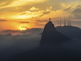 Corcovado-Berg - Rio De Janeiro