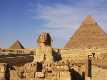 Sphinx von Gizeh - Kairo