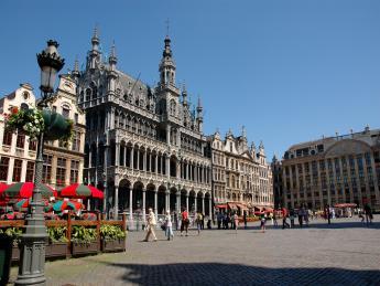 7168+Belgien+Brüssel+Brüsseler_Rathaus+TS_133913331