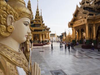 Schwedagon-Pagode - Yangon