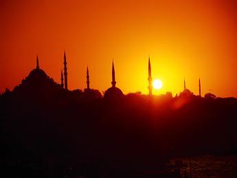 Sonnenuntergang Istanbul - Istanbul