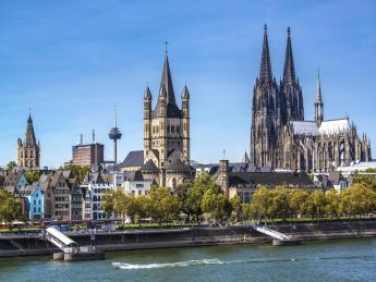 Rheinufer - Köln