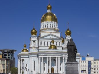Kathedrale des Heiligen Rechtschaffenen Theodor Uschakow - Saransk