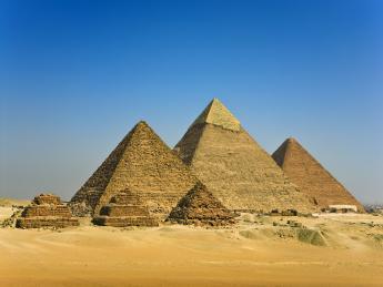 Pyramiden von Gizeh - Gizeh