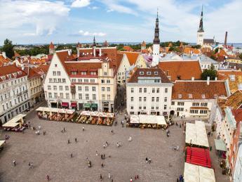 9046+Estland+Tallinn+Rathausplatz+GI-570279757