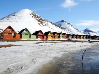 Bunte Häuser - Longyearbyen