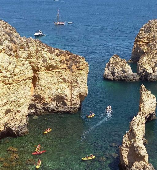 Portugal-Küste-Kajak-Kosel