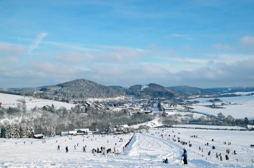 Panorama Skigebiet Willingen