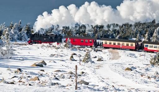 Deutschland: Harz - Brocken - Dampfzug