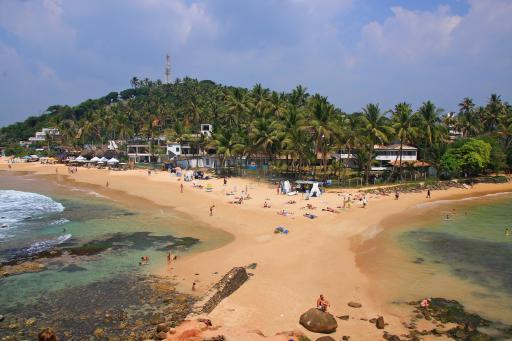 Sri Lanka: Mirissa - Strand