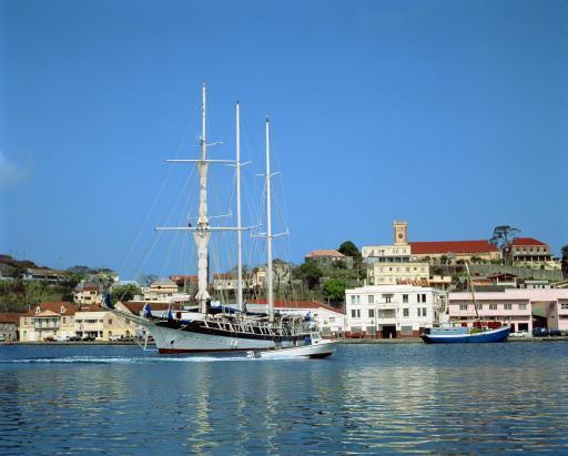 The Carenage - Hafen Grenada