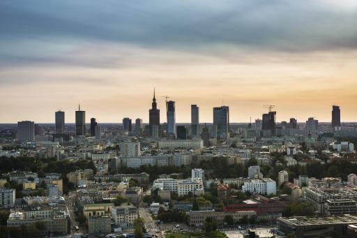 Panorama Warschau - Warschau
