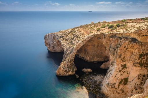 Malta: Blaue Grotte