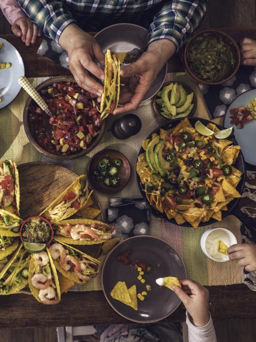 Mexiko: Essen Tacos