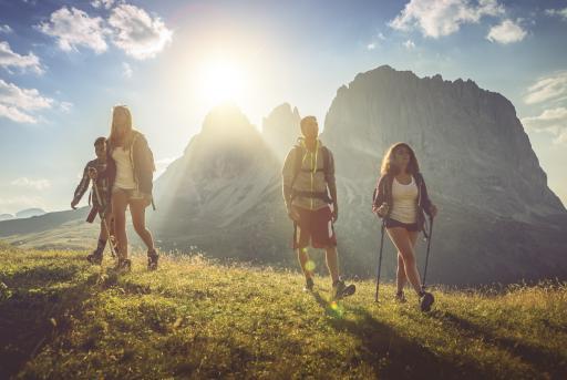 Aktivurlaub - Italien - Südtirol - Wandern