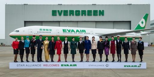 EVA Air Flugzeug