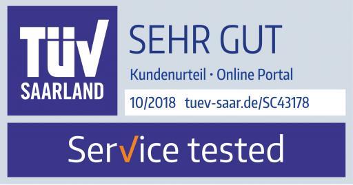 TÜV Siegel 2018