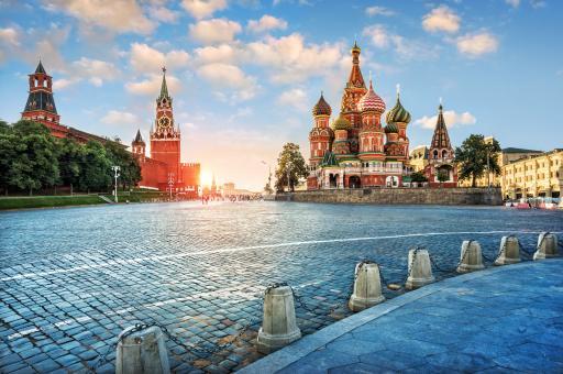 Roter Platz - Moskau
