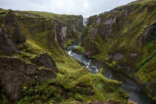 Fjaðrárgljúfur - Island