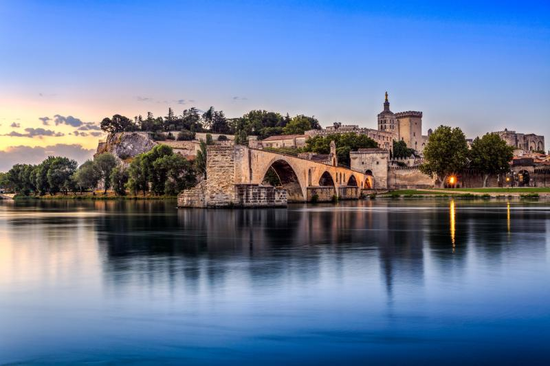 5572+Frankreich+Avignon+Pont_Saint-Bénezet,_historische_Altstadt+GI-505752896